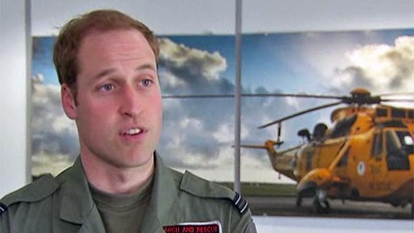 Prince William's new job as an ambulance pilot will conveniently fit in with his high-profile public and personal life. (Source: CNN)