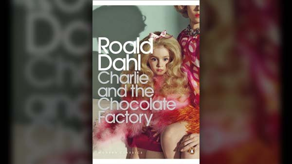 The new cover for 'Charlie and the Chocolate Factory' published by Penguin Books. (Source: Penguin/Facebook)