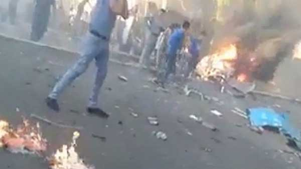 A bomb went off on Tuesday in Baghdad spreading fear in the Iraqi capital. (Source: CNN)