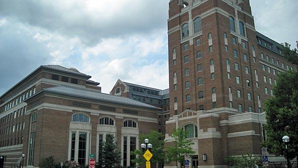 Pictured is the $175 million North Quadrangle on the University of Michigan campus in Ann Arbor. (Source: Michael Barera/Wikimedia Commons)