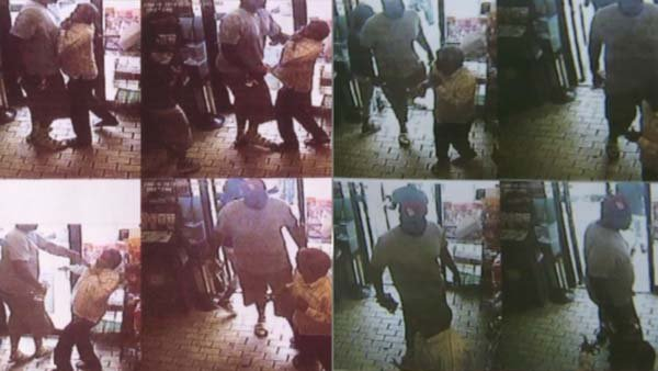 Police released still images of a robbery before Michael Brown was shot. They have not confirmed Brown is in the images. (Source: CNN)