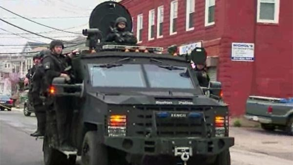 More police forces are acquiring and using military-grade equipment, a fact highlighted by the handling of events after the shooting of Mike Brown in Ferguson, MO. (Source: CNN)