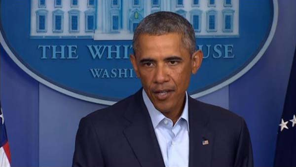 President Obama says military operations are effectively protecting personnel and facilities in Iraq. (Source: POOL/CNN)