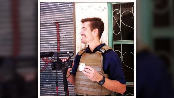 James Foley reporting in Aleppo, Syria – 07/12. (Source: Nicole Tung/FreeJamesFoley.org)