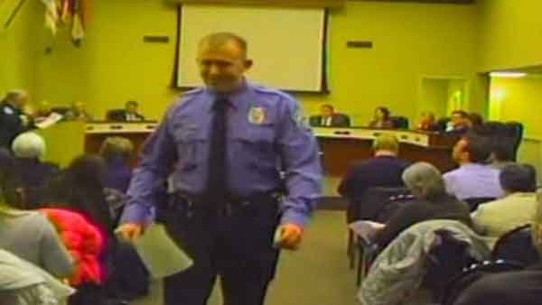 Support grows for Darren Wilson, the officer who shot and killed Michael Brown. (Source: Ferguson City Council/CNN)