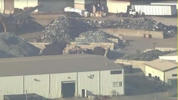 An Illinois recycling plant explosion killed two on Monday.  (Source: MGN online)