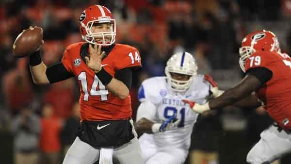 Georgia's Hutson Mason is one of several quarterbacks who could compete for the Heisman Trophy despite being in their first year as a starter. (Source: Georgia Athletics)