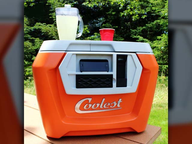 The 'Coolest Cooler' has broken the all-time Kickstarter record. (Source: The Coolest Cooler/Kickstarter)