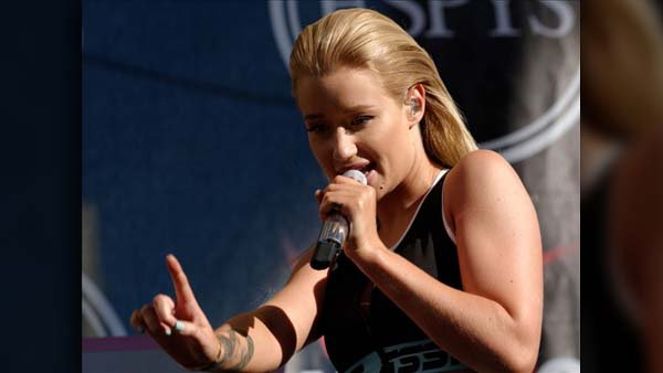 Australian recording artist Iggy Azalea's hit song 'Fancy' is the song of the summer. (Source: Justin Higuchi/Flikr/MGN Online)