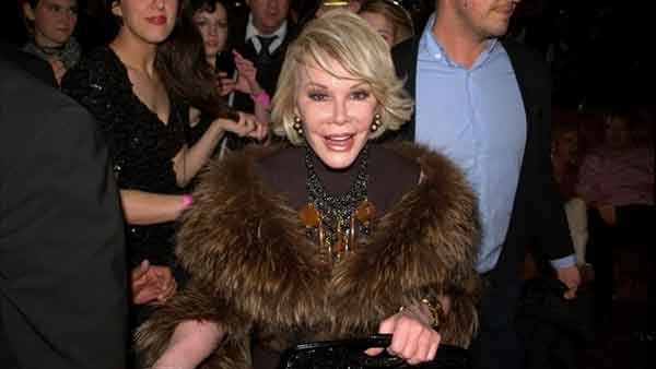 Comedianne and style icon Joan Rivers passed away on Thursday after complications with throat surgery last week. (Source: Wikimedia Commons/MGN)