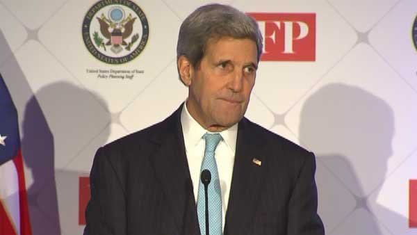 U.S. Secretary of State John Kerry says America's plan to defeat ISIS is starting to take hold.(Source: CNN)