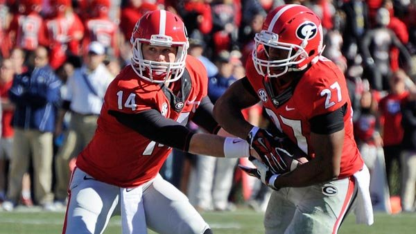 Who would have guessed Nick Chubb, Todd Gurley's backup entering the season, would become the force that propelled the team through adversity? (Source: John Kelley/Georgia Athletics)