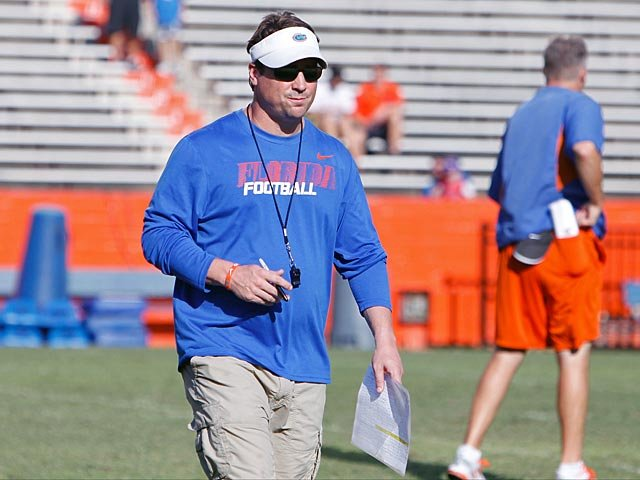 Will Muschamp is done as a head coach in the SEC, but he's a winner here - sort of. (Source: UF Athletic Communications)