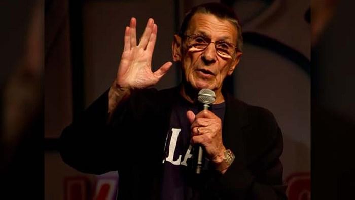Leonard Nimoy, Spock of 'Star Trek,' has died