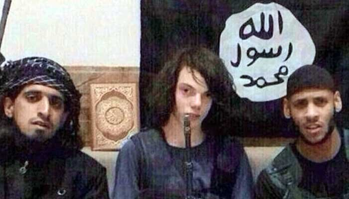 Australian teen Jake Bilardi, center, left the country to join ISIS several months ago. (Source: Facebook/CNN)