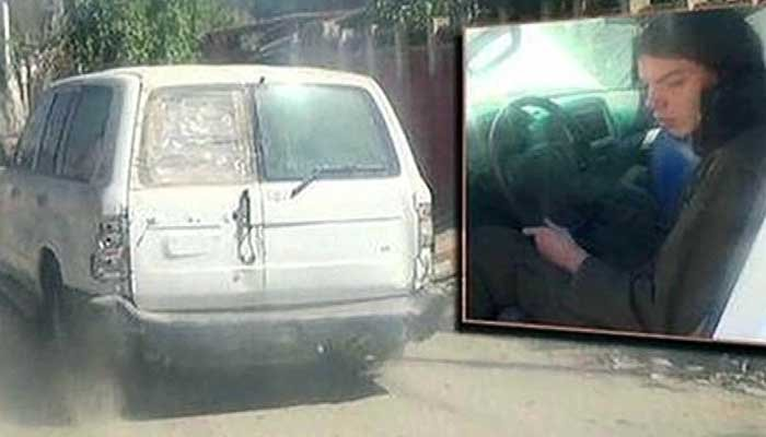 ISIS says a photo, taken moments before a suicide bombing, shows Jake in the van before it exploded. (Source: ISIS/CNN)