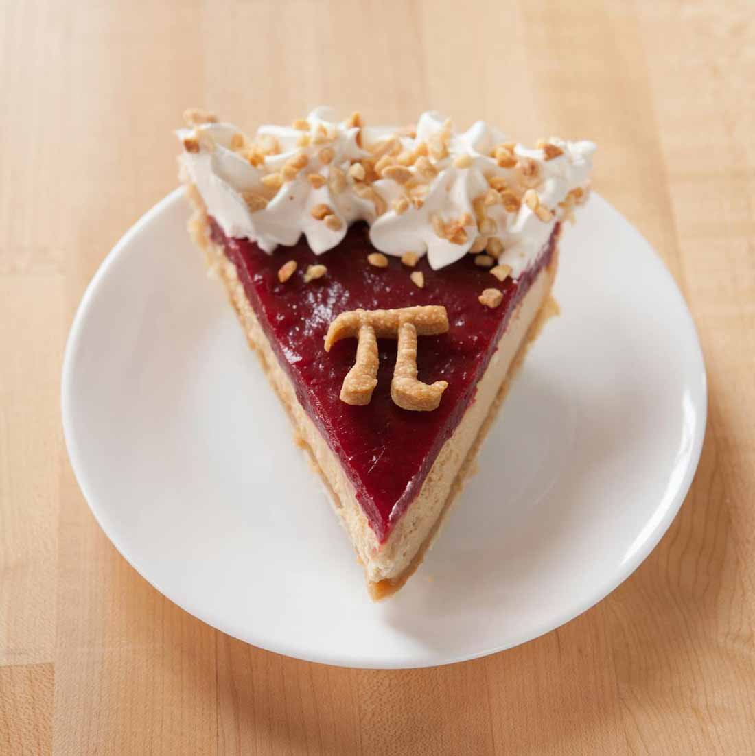 Here's a picture of a slice of delicious pie in celebration of Pi Day. (Source: Grand Traverse Pie Company/Facebook)
