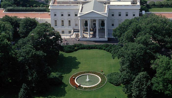 Officials detained a man for attempting to fly a drone over the White House fence. (Source: Department of Defense/Wikimedia Commons)