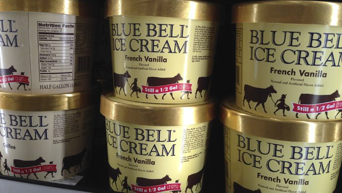 Blue Bell is suspending operations at multiple plants across the U.(AP Photo/Orlin Wagner)