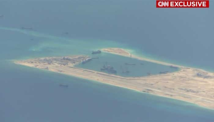 The new islands have been called unsinkable aircraft carriers. (Source: CNN)