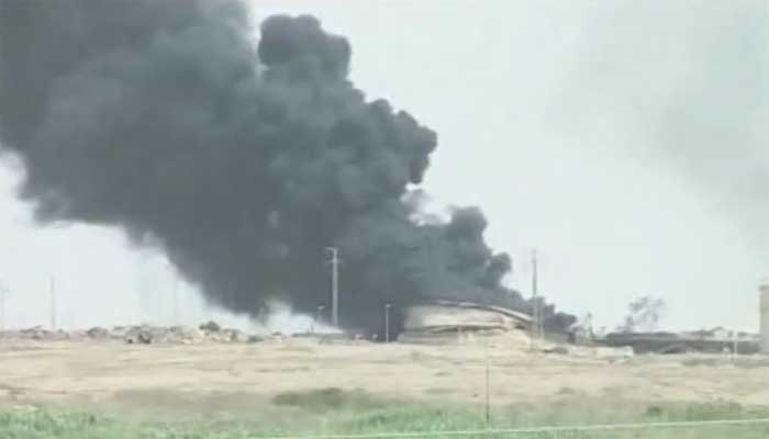 Iraqi forces have to be careful in taking back a refinery because ISIS could set it ablaze. (Source: CNN)
