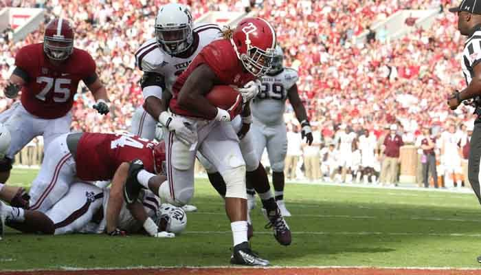 Alabama running back Derrick Henry will move into the starting role and possibly the Heisman race. (Source: Alabama Athletics)