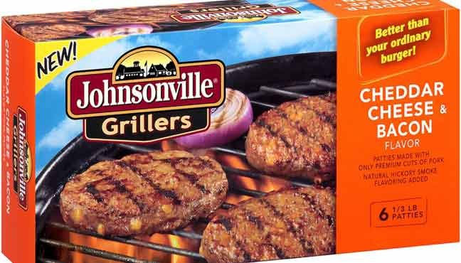 Nearly 89,235 pounds of Kenosha Beef's frozen pork sausage patties are being recalled after consumers say they found pieces of metal in the product. (Source: Kenosha Beef)