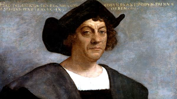 Monday marks the anniversary of Christopher Columbus' 'discovery' of 'The New World.' (Source: Wikipedia)