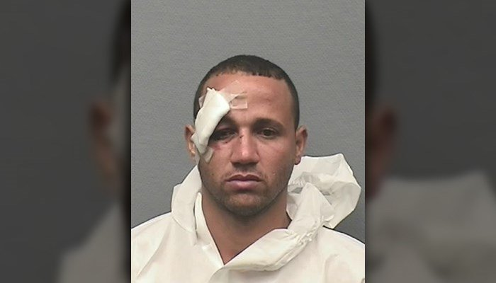 Reinaldo Cardoso Rivera, 38, was arrested and charged in connection to the stabbing, allegedly over a piece of chicken. (Source: Houston Police Dept.)