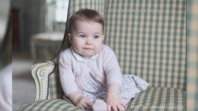 Duke and Duchess share new photos of Princess Charlotte