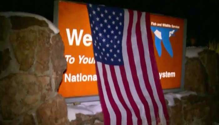 A group of militants seized a building in the Malheur National Wildlife Refuge in OR Saturday night, following a peaceful protest against the prosecution of two local ranchers. (Source: RNN)