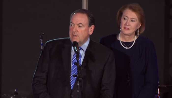 Mike Huckabee bowed out of the presidential race on Monday night. (Source: CNN)