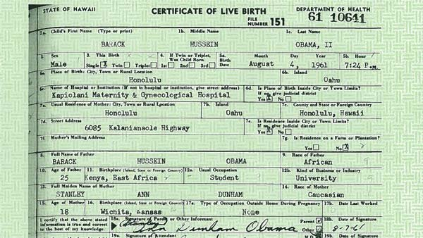 White House releases Obama\'s birth certificate - Hawaii News Now ...