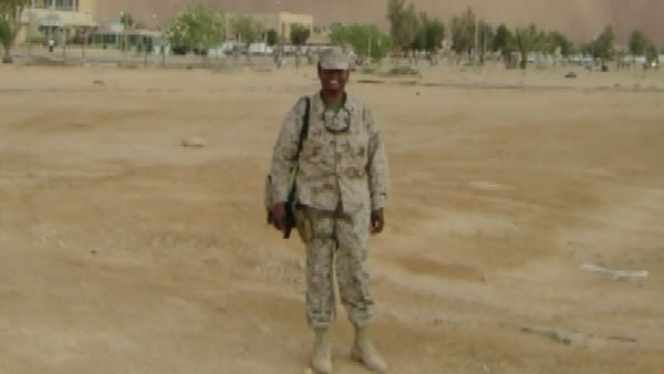 Kendra Smith, who served for 14 years in the Navy, is one of many veterans who have a hard time finding a job since she left the service in 2009. (Source: CNN)
