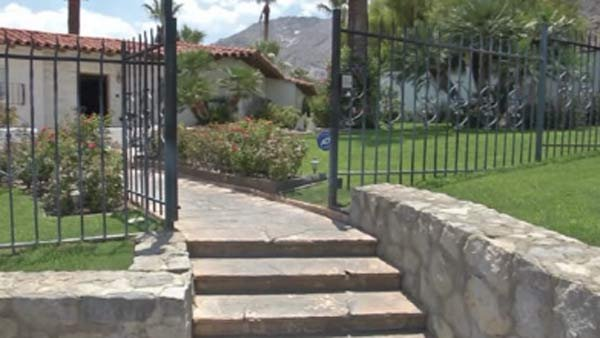 Elvis' California home should be open to the public by October. (Source: KMIR/CNN)