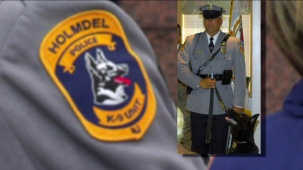 NJ K-9 receives high honors on last day alive