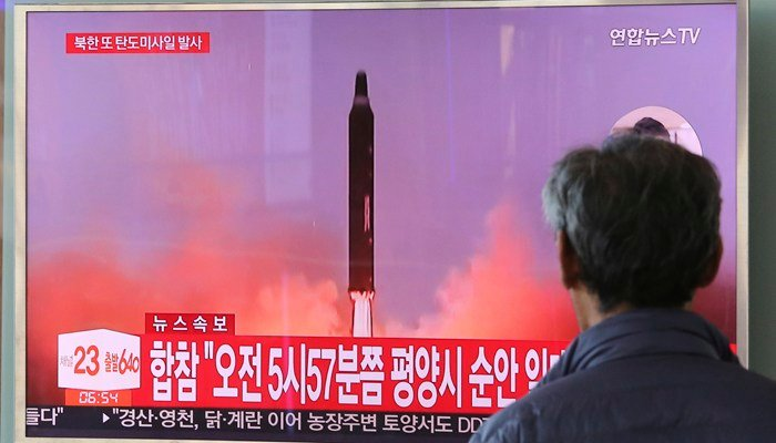 North Korea says it has suspended nuclear and long-range missile tests and plans to close its nuclear test site, multiple news organizations reported. (Source: AP Photo/Ahn Young-joon)