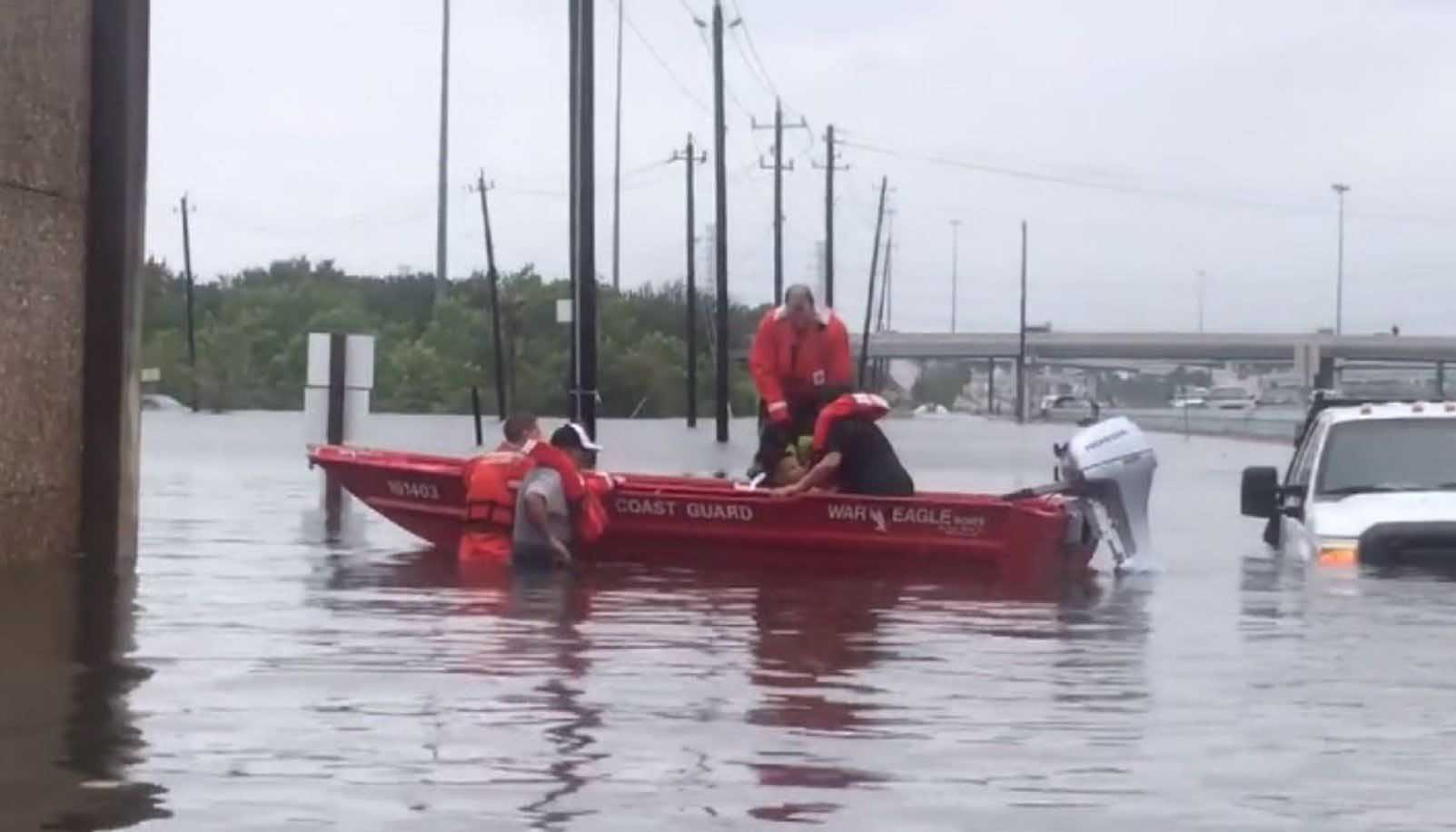 """The agency said last year's hurricane season """"stretched response capabilities at all levels of government."""" (Source: U.S. Coast Guard via CNN)"""