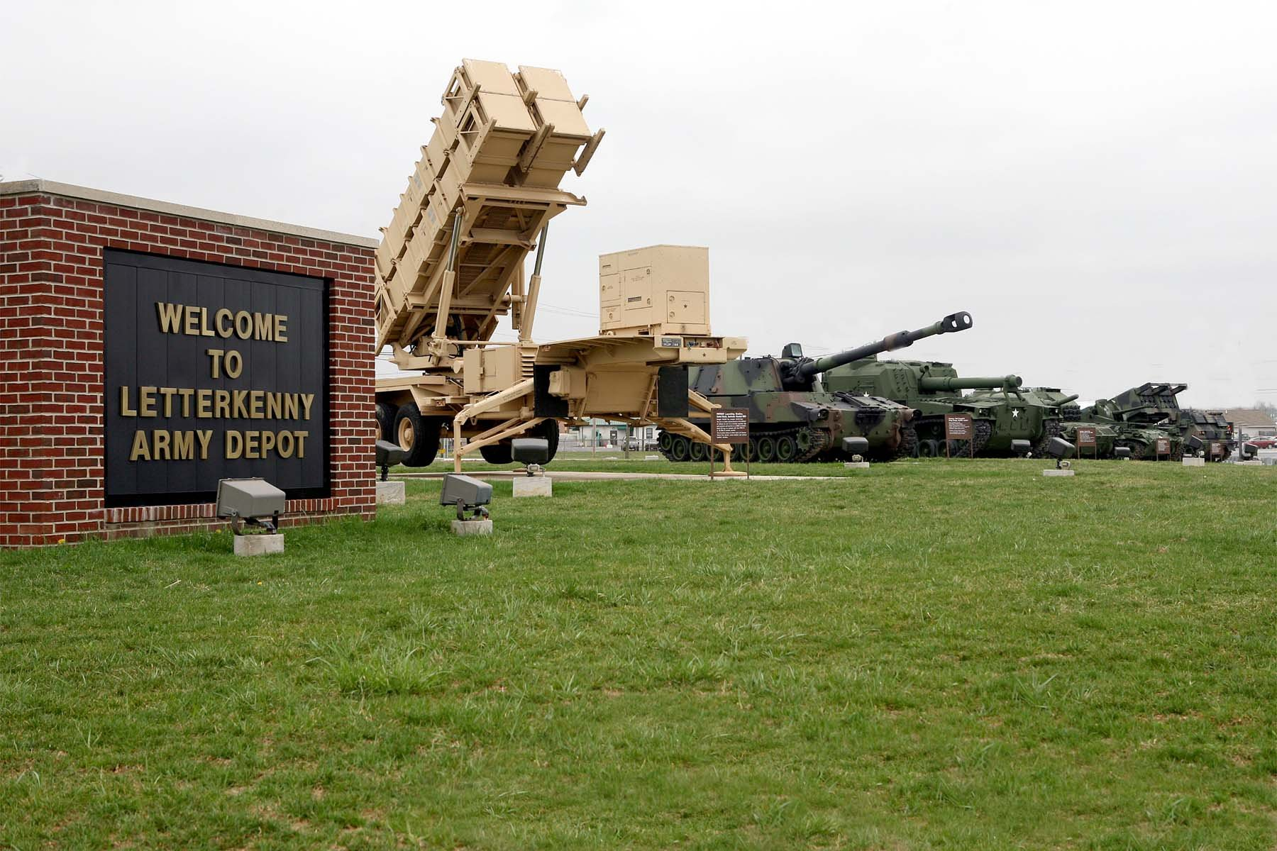 Three people were airlifted from the Army depot Thursday. (Source: Letterkenny Army Depot)