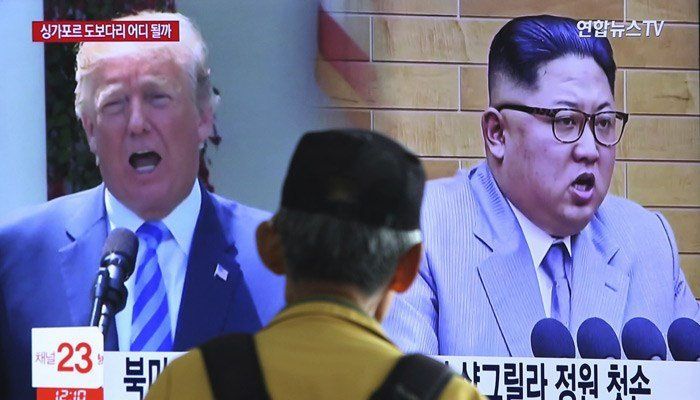 President Donald Trump has cancelled a summit with North Korean leader Kim Jong Un. (Source: Ahn Young-joon, File/ AP Photo)