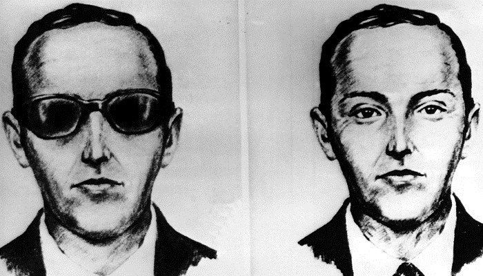 This undated artist sketch shows the skyjacker known as D.B. Cooper from recollections of the passengers and crew on the 1971 flight. (Source: AP-Photo, file)