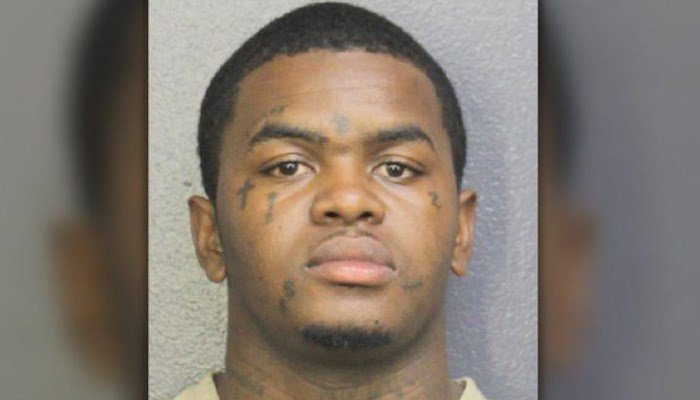Dedrick Williams, 22, is charged with first-degree murder in the shooting death of XXXTentacion. (Source: Broward County Sheriff's Office)