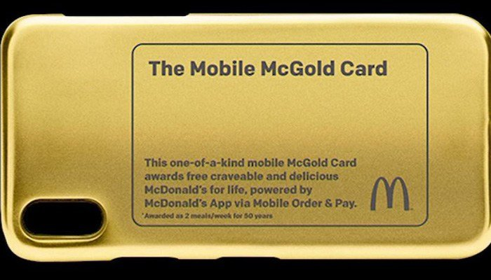 The contest for the McGold Card will run until Aug. 24. (Source: CNN)