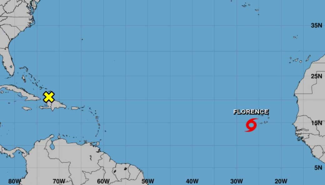 Florence is the sixth named storm of the 2018 Atlantic hurricane season. (Source: NHC)