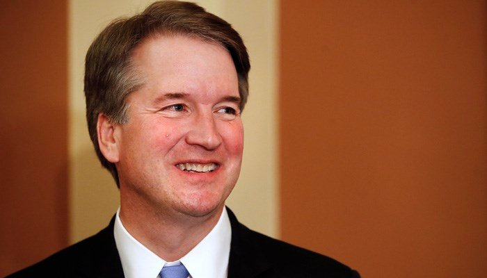 Brett Kavanaugh was nominated by Trump to replace retired Justice Anthony Kennedy. (Source: AP Photo/Jacquelyn Martin)