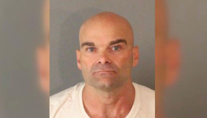 Hubert Edgin, 49, is being held on a bail of $1 million on multiple counts of sexual assault of a minor under the age of 10. (Source: Riverside Police Department/KCAL/KCBS/CNN)