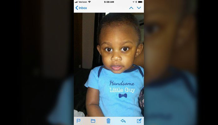 The Union County Sheriff's Office said in a Facebook post Monday that they had searched for 1-year-old Kaiden Lee-Welch for several hours unsuccessfully but were continuing Monday morning.(Source: Sheriff's office/Facebook)