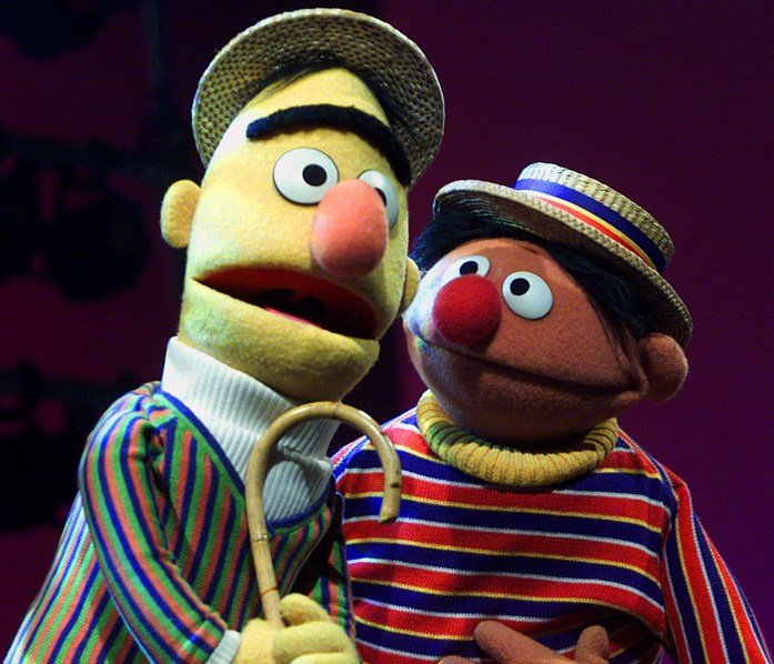 A former writer says he wrote Bert and Ernie as a couple. He worked on the show for 15 years. (Source: AP)